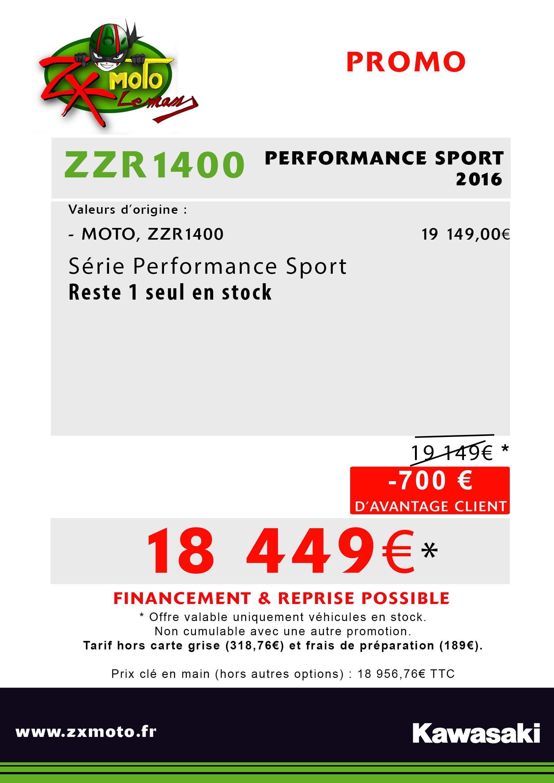 LAST ZZR1400 PERFORMANCE SPORT