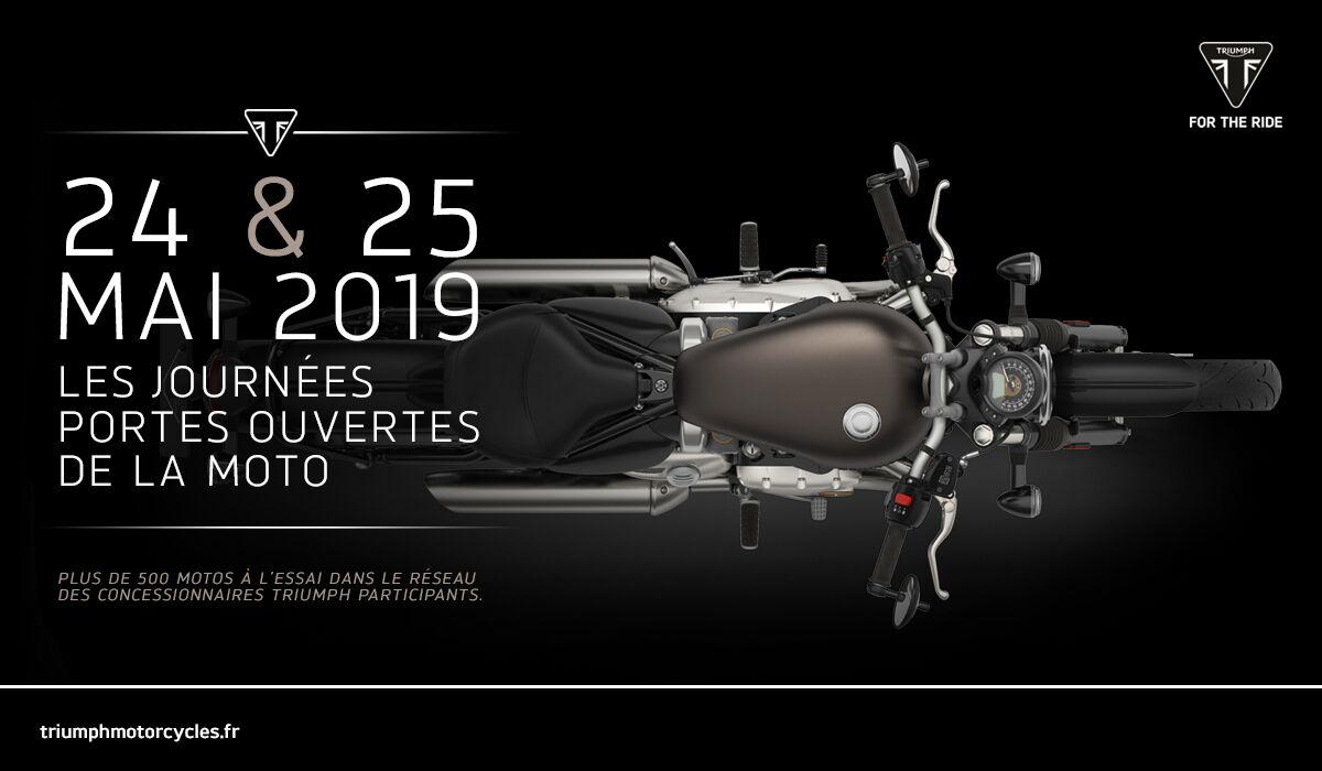 24 & 25 mai participez aux journées portes ouverte de la moto