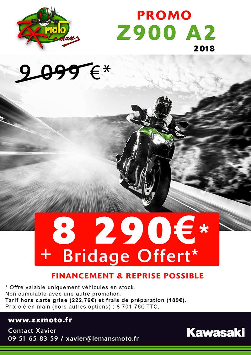 Z900 95cv 2018 PROMO EXCEPTIONNELLE