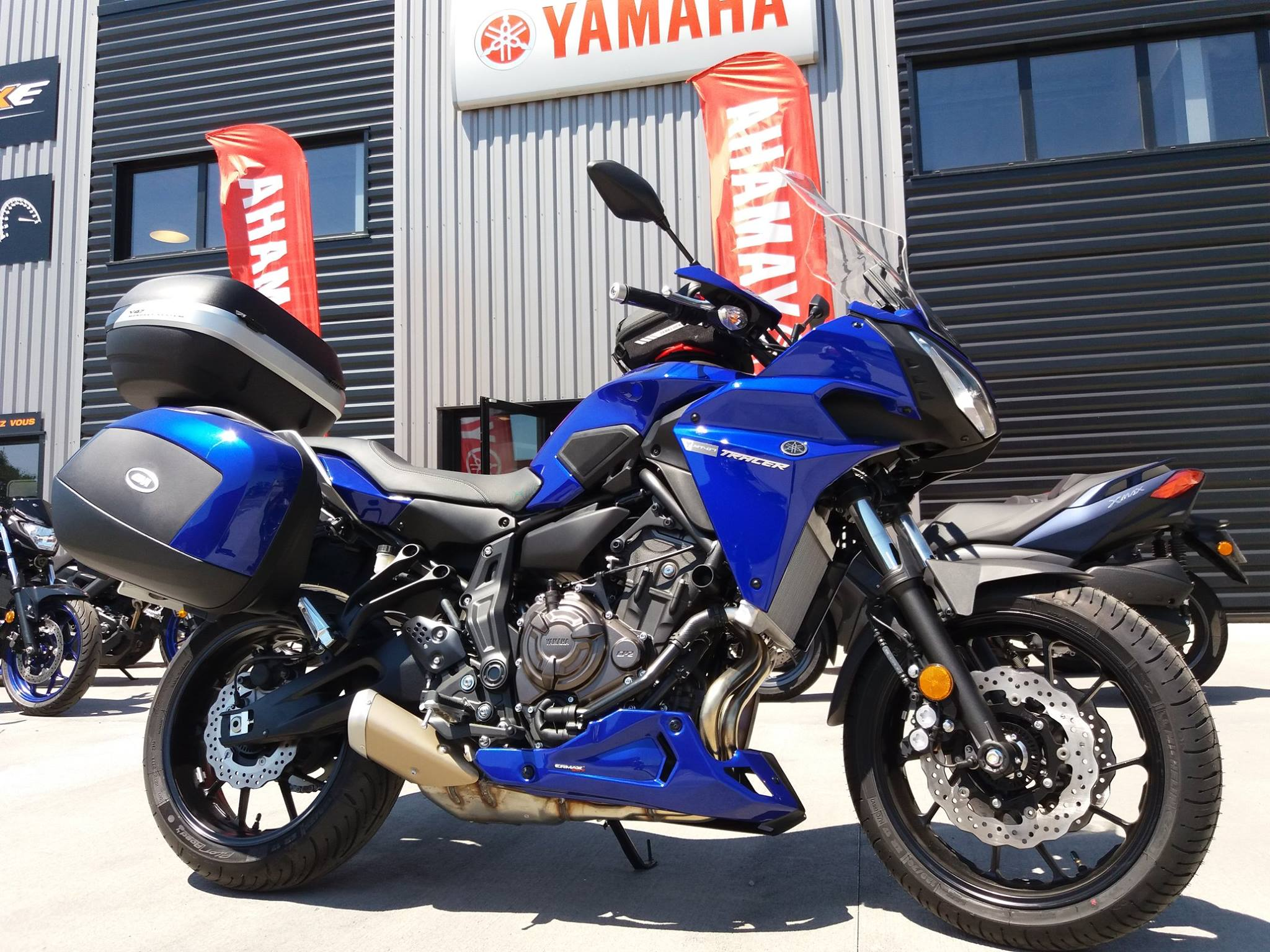 YAMAHA TRACER 700 AVEC BAGAGERIE