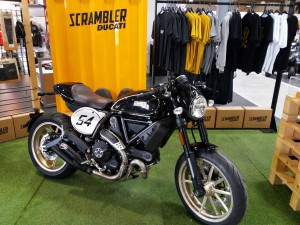 Le nouveau Ducati Scramber Café-Racer est arrivé !