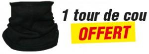 INSCRIPTION COMPLÉMENTAIRE EN LIGNE pour 1 TOUR DE COU OFFERT*
