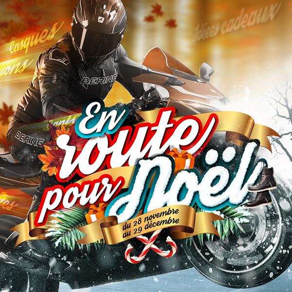 MOTO AXXE   EN ROUTE POUR NOEL