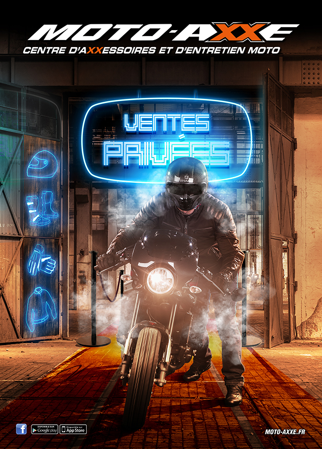 MOTO AXXE: VENTES PRIVEES