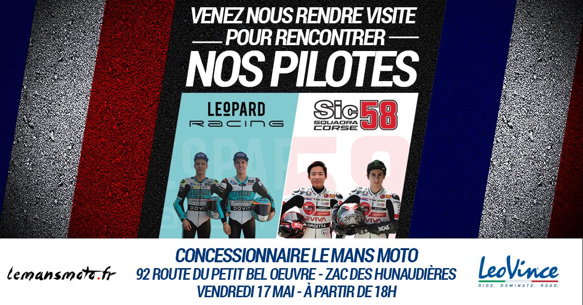 info for 8a113 56435 Moto Gp Dédicaces Pilotes Ven 17 Mai 18h