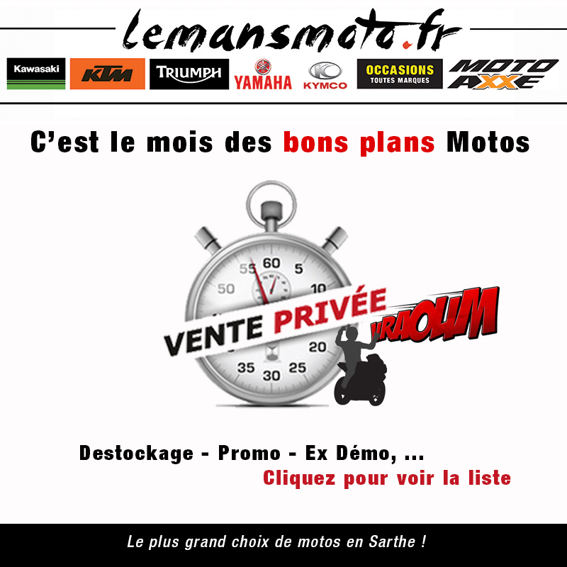 VENTE PRIVE - BONS PLANS MOTOS