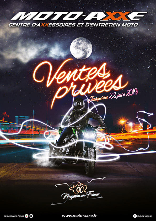 VENTES PRIVEES CHEZ MOTO AXXE